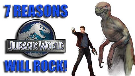 7 Reasons Like Rock by 7 Reasons Jurassic World Will Rock