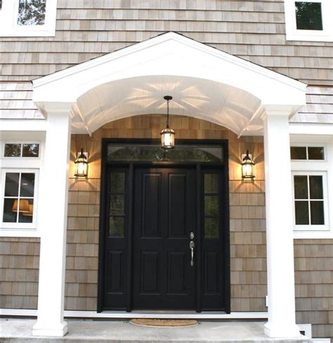 Colonial Front Doors Entryways Colonial Homes Interior Decorating