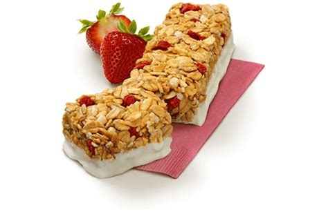 yogurt topping for muesli bars yogurt granola bars strawberry
