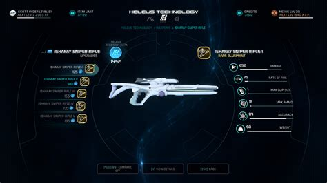 the best mass effect andromeda guide best weapons for every type