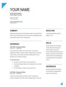 modern fill in blank resume template works resumes design