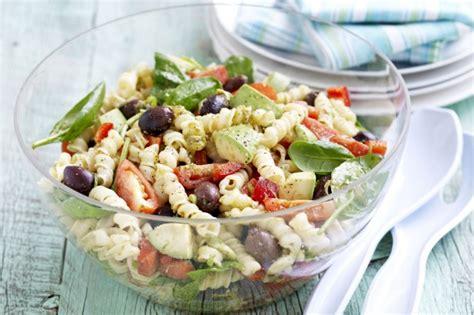 pesto pasta salad recipe pesto pasta salad recipe taste com au