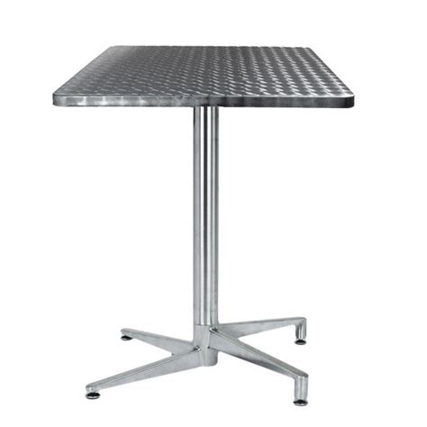 table de terrasse pliante table terrasse inox pliante tra 06c one mobilier