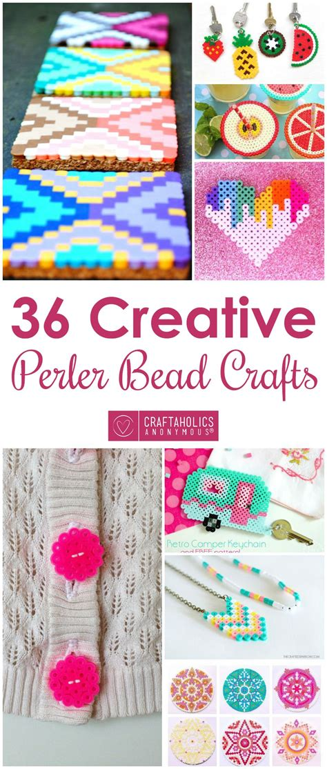 craftaholics anonymous perler bead charm bracelets