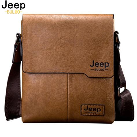 Buluo Jeep Original Brand Messenger Bags High Quality Casual Tas 174 tote bags jeep jeep buluo brand new fashion leather leather messenger bag
