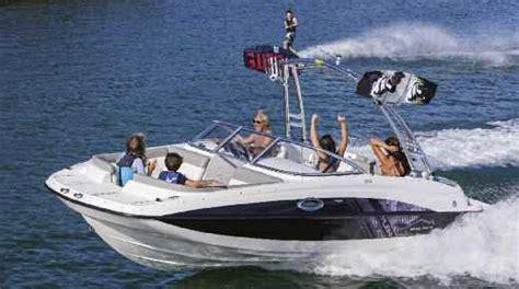 bayliner deck boat reviews 2013 bayliner 215 deck boat tested reviewed on us boat