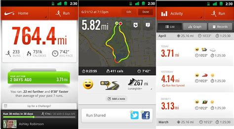 best running app for android nike fitness app android gallery