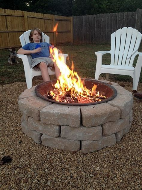 build backyard fire pit 39 diy backyard fire pit ideas you can build