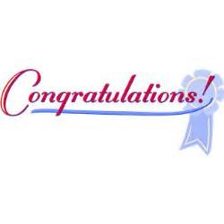 Congratulations clipart frugality is free