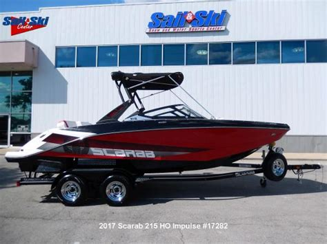 scarab boats 215 ho scarab 215 boats for sale boats