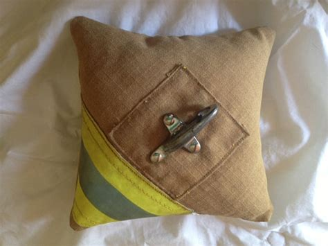 Firefighter Ring Bearer Pillow firefighter wedding ring pillow by rekindledpride on etsy
