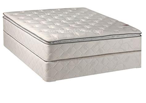 Best Orthopedic Mattress by Continental Sleep Mattress 10 Inch Fully Assembled Pillow