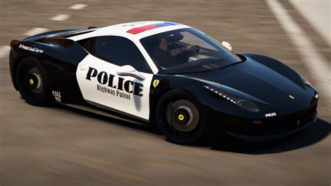 police ferrari forza horizon 2 ferrari 458 police car police car
