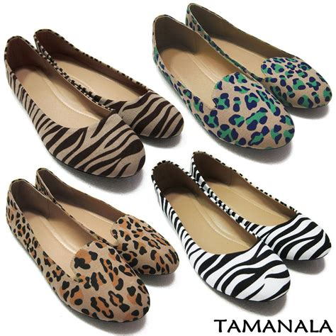 zebra shoes flats pretty womens flats casual ballet ballerina comfort