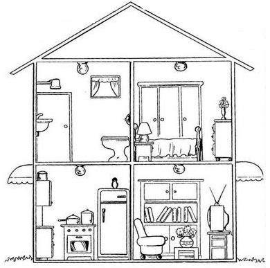 imagenes para pintar la casa casas y sus habitantes laminas pintadas