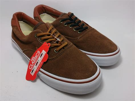 Sepatu Vans Era Suede vans era 59 california suede brown shoes shop id