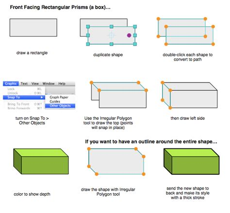 How To Make A Rectangular Prism With Paper - how to draw prismbreak