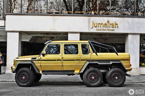 mercedes 6x6 mercedes g 63 amg 6x6 29 march 2017 autogespot