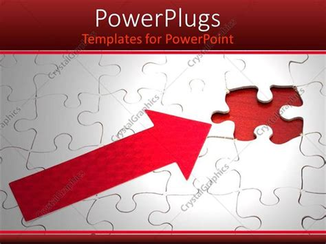 powerpoint template piece of puzzle missing problem and powerpoint template problem solving metaphor white