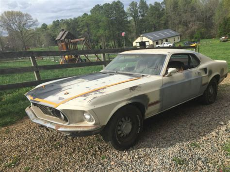 Find Uva 1969 Mustang Mach 1 Fastback Sports Roof M Code Barn Find Virginia Classic