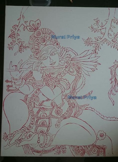 Mural Designs Outline by Kerala Mural Outline Sketches Www Pixshark Images Galleries With A Bite
