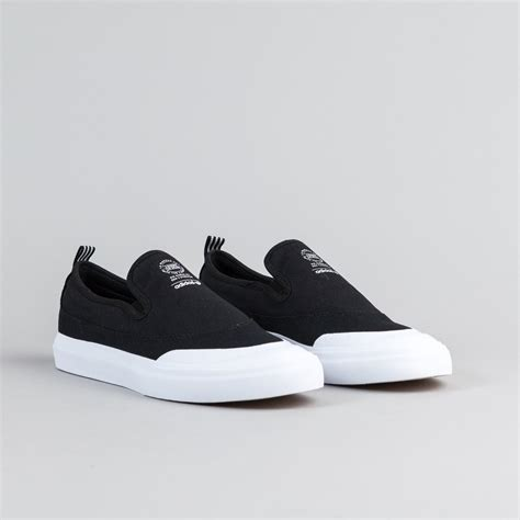 adidas slip on adidas matchcourt slip on shoes black black