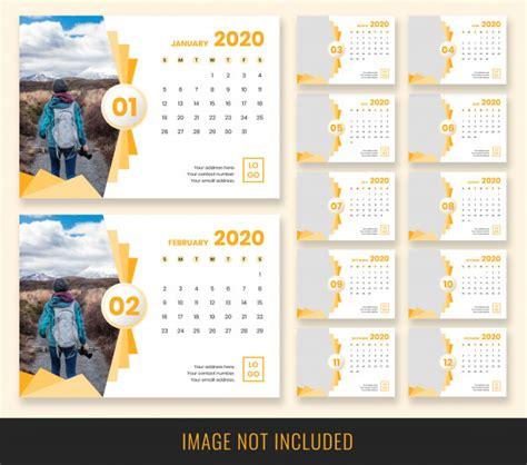 desk calendar design psd file premium