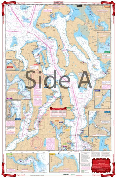 Map Of Puget Sound And by Puget Sound Marine Map Www Pixshark Images