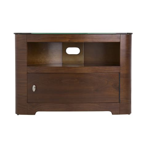 32 Inch Tv Cabinet by Walnut Veneer Oval Lcd Plasma Tv Cabinet Stand 32 42 Inch
