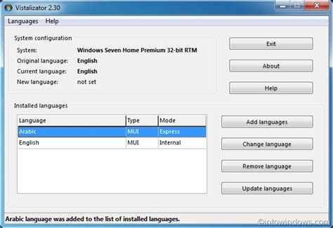 install windows 10 language pack how to install language pack in windows 7 professional