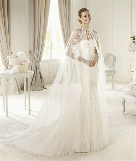 Wedding Dress With Cape by My Wedding Dress Chic Wedding Dresses With Capes