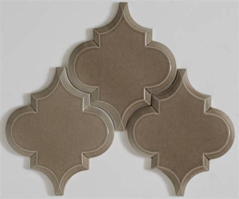 Copper Tiles For Kitchen Backsplash beveled arabesque tile homesfeed