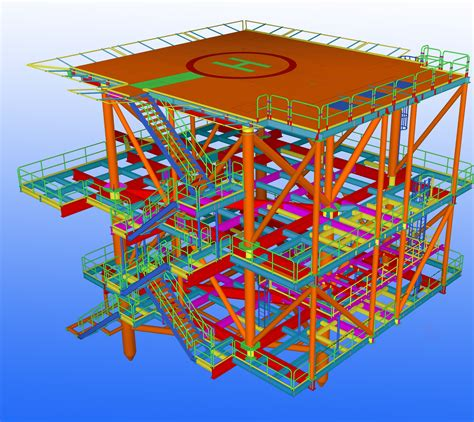 design engineer offshore automation speeds up design of offshore structures