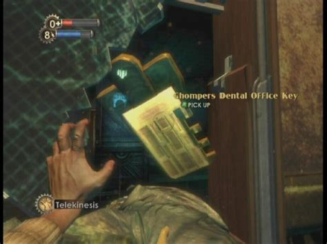 Chompers Dental Office Key by Pavilion Bioshock Guide