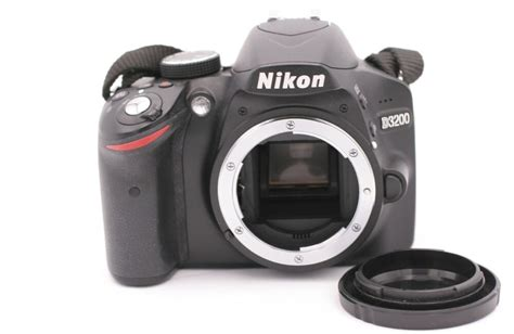 nikon d d3200 24 2mp digital slr black only shutter count 485 18208254903 ebay