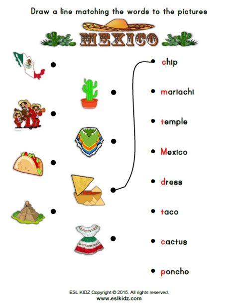 kindergarten activities mexico mexico worksheets activities games and worksheets for kids