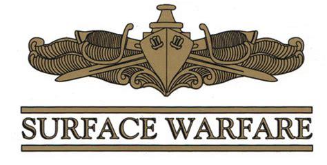 Surface Warfare Officer decals