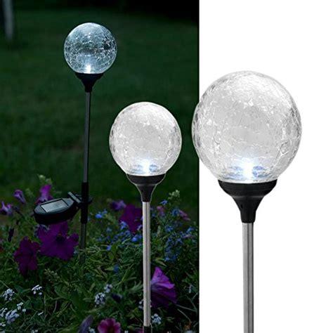 Outdoor Lighting Balls Evelots Garden Solar Light Garden Yard Outdoor Lighting Set Of 3 Landscape Lighting