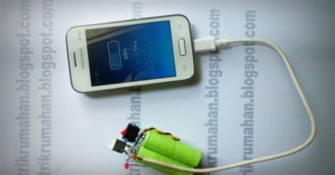 membuat lu indikator power bank membuat powerbank sederhana tips dan trik kreatif