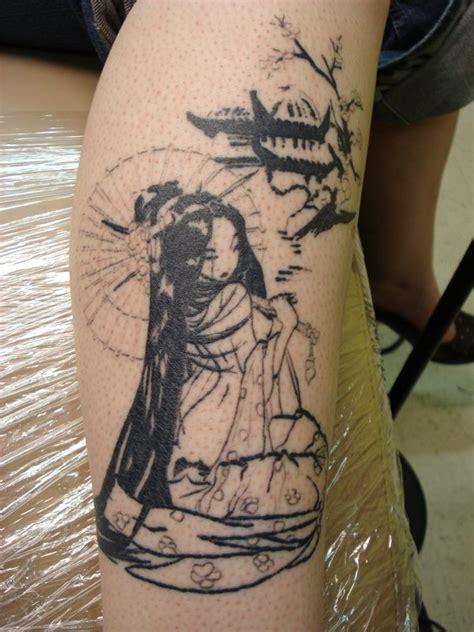geisha tattoo deviantart geisha tattoo by daredevil840 on deviantart