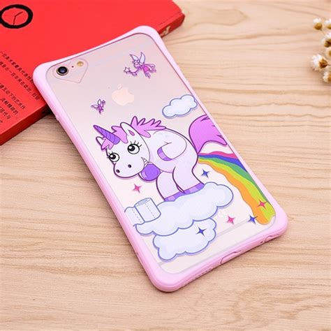 Iphone 6g 6s Softcase Sheep Skin Free Colour unicorn tpu cover soft phone for apple iphone 6 6s 6 plus 6s plus ebay