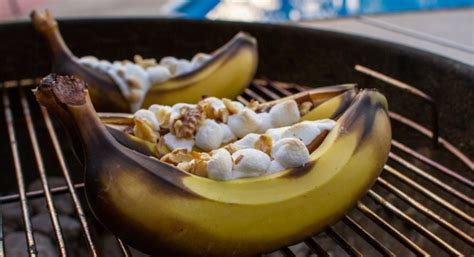 grilled banana dessert bar stl casual summer entertaining recipes and ideas the krave