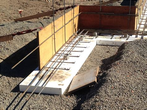 foam basement forms walsh construction co placing a concrete foundation on