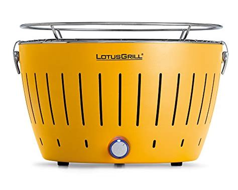 lotusgrill g ge 34 barbecue portable 2 4 personnes jaune