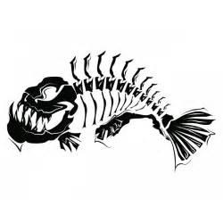 cartoon fish skeleton clipart best