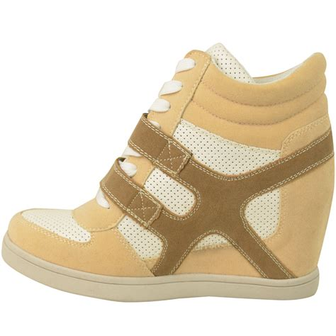 size 12 wedge sneakers new hi top wedge trainers sneakers pumps