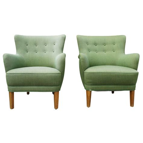 tub armchairs pair of green tub armchairs at 1stdibs