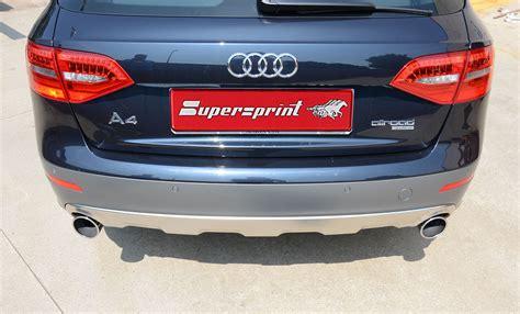 audi allroad exhaust system audi a4 allroad 3 0 tdi 240 245 hp 09 gt audi