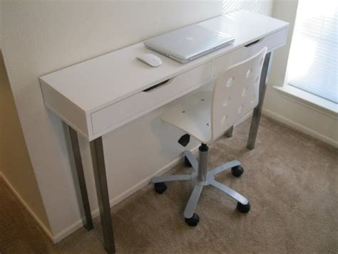 Small Desk With Drawers Ikea Small Writing Desk With Drawers Home Design Ideas