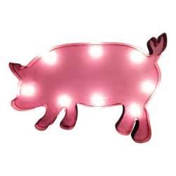 pig lights pig symbol marquee sign light buy light up letters